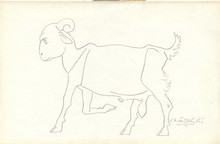 Animals Pencil Art Drawing title Untitled 19 by artist Laxma Goud