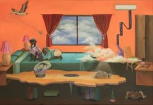 art, painting, canvas, acrylic, fantasy