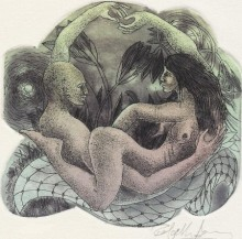 art, printmaking, paper, etching, aquatint, erotic