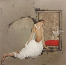 art, painting, canvas, acrylic, figurative