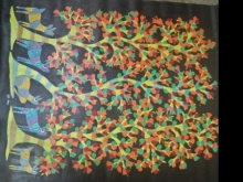 Traditional Indian art title Gond 9 on Paper - Gond Paintings