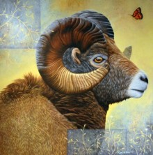 Beauty Of Wildlife 1 | Painting by artist Ramesh Das | acrylic | Canvas