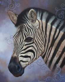 Beauty Of Wildlife 3 | Painting by artist Ramesh Das | acrylic | Canvas