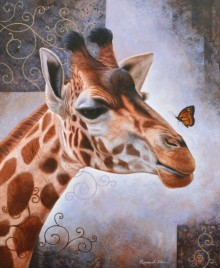 Beauty Of Wildlife 4 | Painting by artist Ramesh Das | acrylic | Canvas