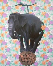 Kushal Kumar Paintings | Acrylic Painting - Untitled 1 by artist Kushal Kumar | ArtZolo.com
