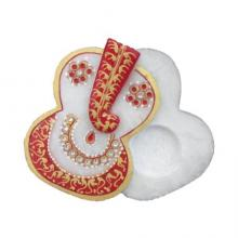 Ecraft India | Ganesha Chopra Craft Craft by artist Ecraft India | Indian Handicraft | ArtZolo.com