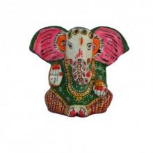 Meenakari Lord Ganesha Statue | Craft by artist E Craft | Metal