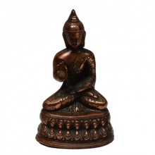 Metal Lord Buddha | Craft by artist E Craft | Metal
