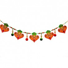 Colorful Bandarwal - Door Hanging   Craft by artist E Craft   Paper