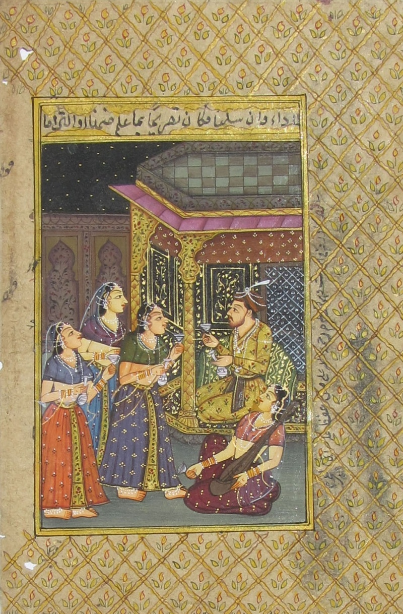 Mughal Painting by Unknown   mughal Paintings   Paper Traditional Art