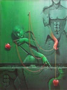 Gopal Chowdhury | Acrylic Painting title Moods on Canvas | Artist Gopal Chowdhury Gallery | ArtZolo.com