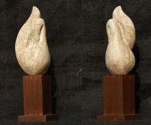 art, sculpture, soft stone, animal, bird