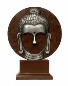 art, sculpture, aluminium, religious, gautama buddha