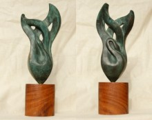Dampatya 1 | Sculpture by artist Rajeev Ranjan | Bronze