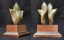 Bronze Sculpture titled 'Nature 1' by artist Rajeev Ranjan