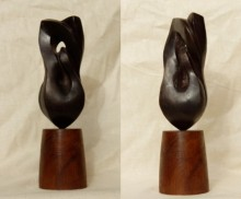 Two Birds | Sculpture by artist Rajeev Ranjan | Bronze