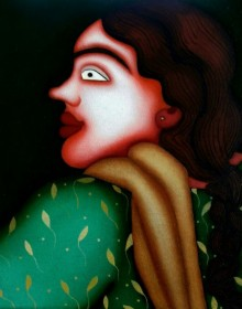 Untitled 3 | Painting by artist Jayita Borthakur | oil | Canvas
