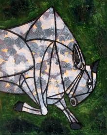 Bull 22 | Painting by artist Vijay Belde | acrylic | Canvas