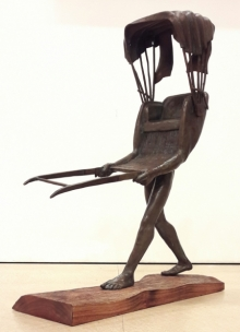 Journey | Sculpture by artist Rakesh Sadhak | Bronze