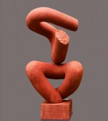 Sand Stone Sculpture titled 'Dancing Shiva 1' by artist Rajnish Verma