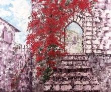 Ravishing Kingdom | Painting by artist Shilpi Singh Patel | oil | Canvas