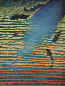Dhananjay Takalikar | Oil Painting title Seascape 1 on Canvas | Artist Dhananjay Takalikar Gallery | ArtZolo.com