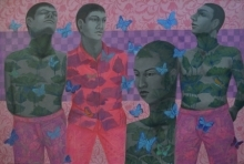 Partha Mondal | Acrylic-oil Painting title Reformation Of Human Nature 1 on Canvas