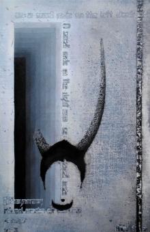 contemporary Acrylic Art Painting title Idiosyncrasy by artist T Raju Gopalarao