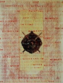 contemporary Mixed-media Art Painting title 'My Ecstasy 4' by artist T Raju Gopalarao
