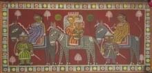 Figurative Tempera Art Painting title Untitled by artist Jamini Roy