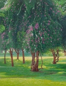 Blooming Beauty | Painting by artist Gopal Nandurkar | oil | Canvas