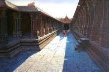 Virupaksha Temple Hampi 2 | Painting by artist Pravin Pasare | oil | Canvas