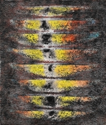 Rupesh Pawar | Mixed-media Painting title Untitled 7 on Paper