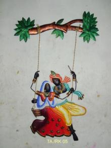 Nitesh | Krishna Radha Jhoola 3 Craft Craft by artist Nitesh | Indian Handicraft | ArtZolo.com
