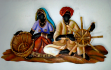 Nitesh | Basket Maker Craft Craft by artist Nitesh | Indian Handicraft | ArtZolo.com