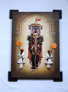 Nitesh | Painting On Iron Craft Craft by artist Nitesh | Indian Handicraft | ArtZolo.com
