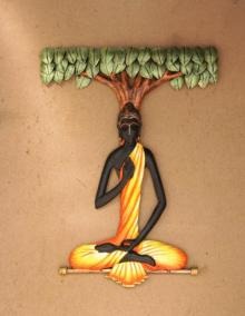 Buddha | Craft by artist Handicrafts | Wrought Iron