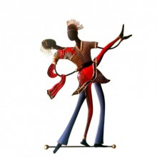 Dancing Couple | Craft by artist Handicrafts | Wrought Iron