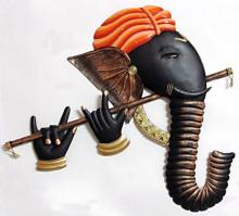 Ganesh Bansuri | Craft by artist Handicrafts | Wrought Iron
