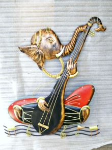 Nitesh H | Ganesha Craft Craft by artist Nitesh H | Indian Handicraft | ArtZolo.com