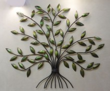 Nitesh | Leaves Wall Hanging Craft Craft by artist Nitesh | Indian Handicraft | ArtZolo.com