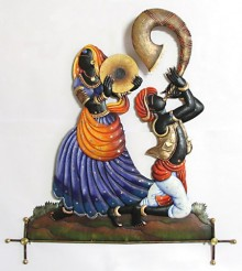 Nitesh | Musical Couple II Craft Craft by artist Nitesh | Indian Handicraft | ArtZolo.com