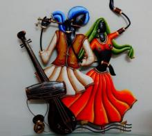 Nitesh | Radha Krishna Craft Craft by artist Nitesh | Indian Handicraft | ArtZolo.com