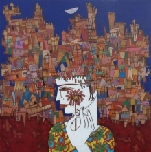 Untitled 1 | Painting by artist Biswajit Mondal | acrylic | Canvas