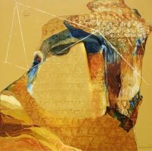 contemporary Acrylic Art Painting title Swayvedan 103 by artist Lakshman Chavan