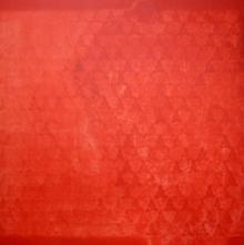 Abstract Acrylic Art Painting title 'Swayvedan 36' by artist Lakshman Chavan
