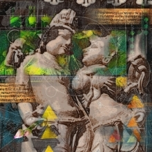 Khajuraho Series 2 | Digital_art by artist Rakesh Chaudhary | Art print on Canvas