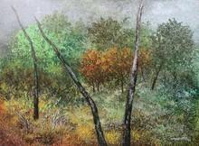 Nature Acrylic Art Painting title Untitled by artist Surya Prakash