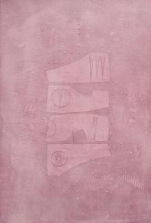 Mohit Bhatia Paintings | Acrylic Painting - Solid Pink Abstract by artist Mohit Bhatia | ArtZolo.com