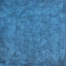Mohit Bhatia Paintings | Acrylic Painting - Solid Blue Abstract Ii by artist Mohit Bhatia | ArtZolo.com